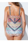 CUT OUT UNDERWIRE ONE PIECE SWIMSUIT